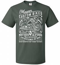 Buy Mayan Custom Bikes Sons Of Anarchy Adult Unisex T-Shirt Pop Culture Graphic Tee (L/Fo