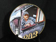 Buy Train Collector Plate Ted Xaras Men of the Rails The Engineer Vintage