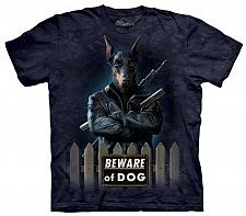 Buy Dobermann Wächter Panzer Hund T-Shirt The Mountain Hüten Sie Sich vor Tier