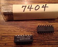 Buy Lot of 24: Texas Instruments SN7404N