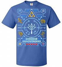 Buy Legend Of Zelda Ugly Sweater Design Adult Unisex T-Shirt Pop Culture Graphic Tee (4XL