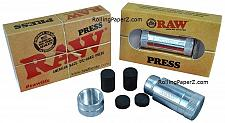 Buy Raw Rolling Papers Brand American Made Die-Hard Powder Press - Aircraft Aluminum