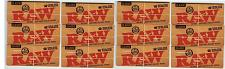 Buy 12 PACKS RAW CLASSIC KING SIZE SUPREME Natural Unrefined Cigarette Rolling Paper