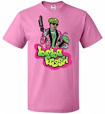 Buy Boba Fresh Unisex T-Shirt Pop Culture Graphic Tee (5XL/Azalea) Humor Funny Nerdy Geek