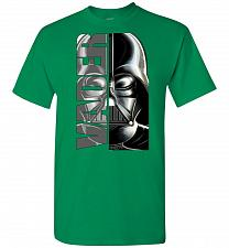 Buy Vader Unisex T-Shirt Pop Culture Graphic Tee (2XL/Turf Green) Humor Funny Nerdy Geeky