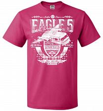 Buy Eagle 5 Hyperactive Winnebago Unisex T-Shirt Pop Culture Graphic Tee (5XL/Cyber Pink)