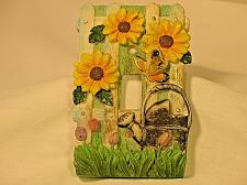 Buy Vintage Light Switch Cover Plate Gardening Flowers Vintage 3D Home Chic Gardener