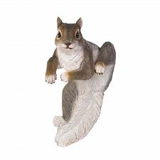 Buy *17279U - Climbing Gray Squirrel Chip Fence Edge Sitter Figurine