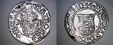 Buy 1544-KB Hungary 1 Denar World Silver Coin - Madonna with Child - Ferdinand I