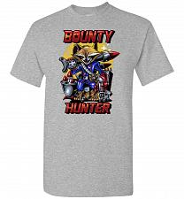 Buy Bounty Hunter Rocket Raccoon Unisex T-Shirt Pop Culture Graphic Tee (XL/Sports Grey)