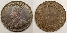 Buy 1918 Canada 1 Large Cent World Coin - Canada - Lot#9712