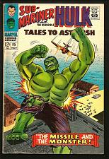 Buy Tales To Astonish #85 Hulk Sub-Mariner Marvel Comics 1966 SILVER AGE