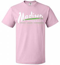 Buy Billy Madison Hotels & Resorts Adult Unisex T-Shirt Pop Culture Graphic Tee (XL/Class