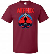 Buy Ant-Max Unisex T-Shirt Pop Culture Graphic Tee (L/Cardinal) Humor Funny Nerdy Geeky S