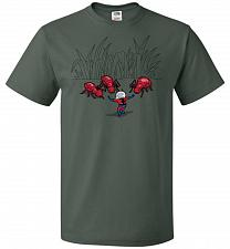 Buy Ant Training Unisex T-Shirt Pop Culture Graphic Tee (5XL/Forest Green) Humor Funny Ne