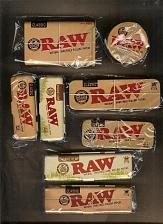 Buy 8 Piece RAW Rolling Papers Storage/Container Tins Collection - LIMITED EDITION -