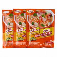 Buy Ajinomoto RosDee Menu Tom Yum Kung Hot and Sour Soup Seasoning Mix Pack of 3