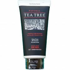 Buy Tea Tree Natural Oil Control Facial Foam For Men Cleanser 140ml