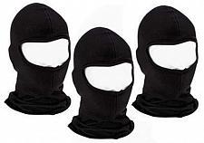 Buy (3) Schwarze Baumwolle Sturmhaube Ninja Gesicht Liner Helm von Diamond Plate