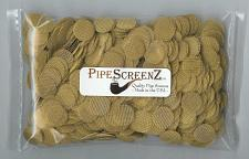"""Buy 2 X 1000+ .625"""" (5/8"""") PipescreenZ™ BRASS PIPE SCREENS - Made in USA (2000+)"""