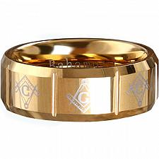 Buy coi Jewelry Tungsten Carbide Masonic Ring - TG289A(Size US16)