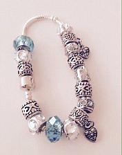 Buy blue beaded bracelet