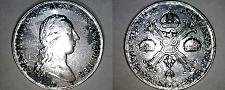 Buy 1788-A Austrian Netherlands 1 Kronenthaler World Silver Coin - Type II