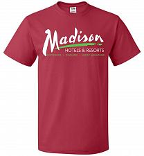 Buy Billy Madison Hotels & Resorts Adult Unisex T-Shirt Pop Culture Graphic Tee (4XL/True