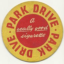 Buy PARK DRIVE A REALLY GOOD CIGARETTE BEER COASTER MAT BAR