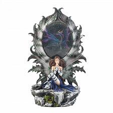 Buy *17948U - Fairy & Dragon Lighted Figurine Statue