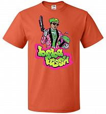 Buy Boba Fresh Unisex T-Shirt Pop Culture Graphic Tee (5XL/Burnt Orange) Humor Funny Nerd