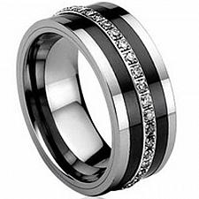 Buy coi Jewelry Tungsten Carbide Eternity Ring-TG626(Size:US4/9/13/14.5)