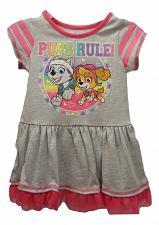 Buy PAW PATROL Girls Dress Size 2T Grey Tulle Ruffle Scoop Neck Skye Everest