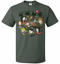 Buy Let's Catch Fireflies Unisex T-Shirt Pop Culture Graphic Tee (XL/Forest Green) Humor