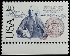 Buy 1983 20c Benjamin Franklin, Treaty of Amity & Commerce Scott 2036 Mint F/VF NH
