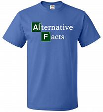 Buy Alternative Chemical Symbol Unisex T-Shirt Pop Culture Graphic Tee (4XL/Royal) Humor