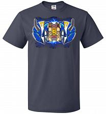 Buy Blue Ranger Unisex T-Shirt Pop Culture Graphic Tee (5XL/J Navy) Humor Funny Nerdy Gee