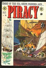 Buy PIRACY #3 Krigstein Evans Crandall 1955 EC COMICS 1st Print & Series +