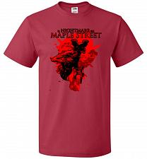 Buy A Nightmare On Maple Street Unisex T-Shirt Pop Culture Graphic Tee (4XL/True Red) Hum