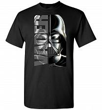 Buy Vader Unisex T-Shirt Pop Culture Graphic Tee (XL/Black) Humor Funny Nerdy Geeky Shirt