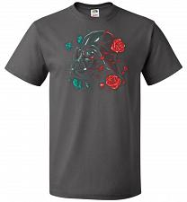 Buy Darkside of the Bloom Unisex T-Shirt Pop Culture Graphic Tee (XL/Charcoal Grey) Humor