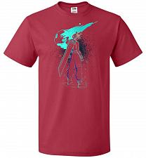 Buy Shadow Of The Meteor Unisex T-Shirt Pop Culture Graphic Tee (4XL/True Red) Humor Funn