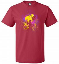 Buy Dragneel Art Unisex T-Shirt Pop Culture Graphic Tee (S/True Red) Humor Funny Nerdy Ge