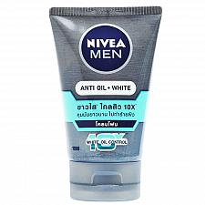 Buy Nivea Men Anti Oil White Acne Mud Foam 100 grams