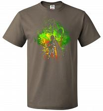Buy Mandalore Art Unisex T-Shirt Pop Culture Graphic Tee (L/Safari) Humor Funny Nerdy Gee
