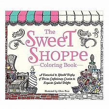 Buy :10953U - Sweet Shoppe Coloring Book