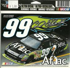 Buy LOT of 3 NASCAR CARL EDWARDS 99 Ultra Decal Removable Sticker WinCraft AFLAC New