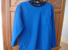 Buy Boys Blue Fleece Long Sleeve Shirt Size XL by Gap
