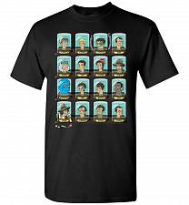 Buy Doctorama Unisex T-Shirt Pop Culture Graphic Tee (3XL/Black) Humor Funny Nerdy Geeky