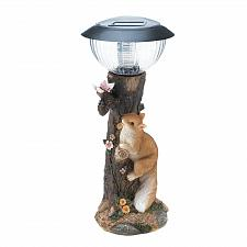 Buy *18477U - Squirrel Garden Statue LED Solar Path Light